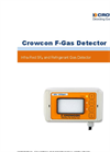 Crowcon F-Gas Detector Manual
